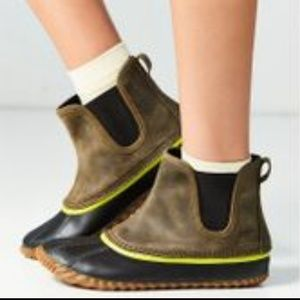NEW Free People x Sorel Chelsea out n about boot